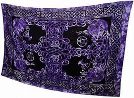 """Celtic Symbols Wall Hanging / Tapestry 72"""" X 108"""" - $27.99"""