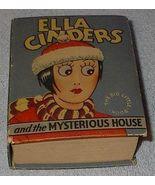 Old Big Little Book Ella Cinders Mysterious House 1934 Vintage - $29.95