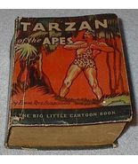 Old Vintage Big Little Book Tarzan of the Apes 1933 Original - $27.00