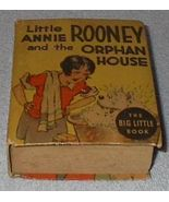 Big Little Book Little Annie Rooney and the Orphan House - $25.00