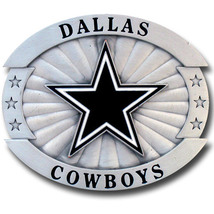 Dallas Cowboys Belt Buckle, NFL Officially Lincensed Oversized   image 1