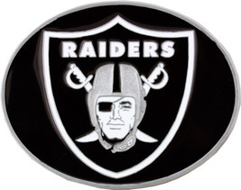 RAIDERS  Belt Buckle,  Officially Lincensed NFL , Medium size , Oakland NEW!! image 2
