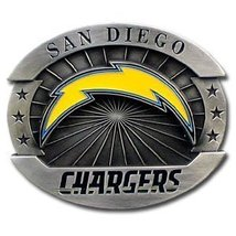 San Diego Chargers  Belt Buckle, NFL Officially Lincensed Oversized  LImited Edi image 1