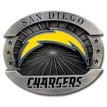 San Diego Chargers  Belt Buckle, NFL Officially Lincensed Oversized  LImited Edi image 2