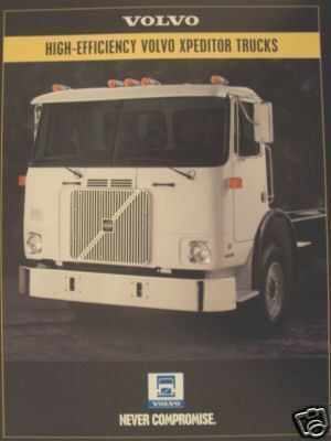 1995 Volvo Xpeditor Truck Brochure