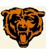Latch Hook Rug Pattern Chart: CHICAGO BEARS -EM... - $5.75