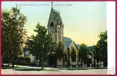 CADILLAC MICHIGAN Congregational Church MI PC