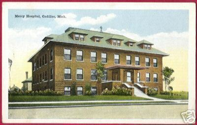 CADILLAC MICHIGAN Mercy Hospital MI PC