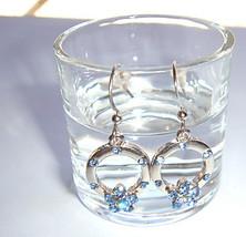 Dangling Floral Earrings - $3.00