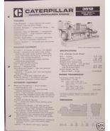 1985 Caterpillar 3512 Marine Diesel Engine Specs Brochure - $6.00