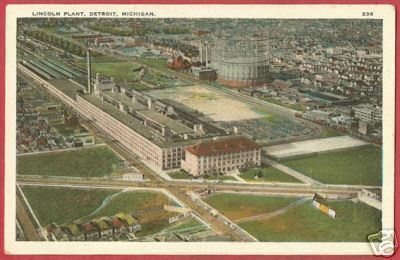 DETROIT MICHIGAN Lincoln Plant Linen MI