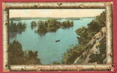 Thousand Islands NY Picturesque 1909 Postcard BJs