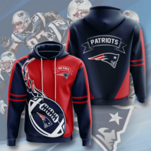 NFL-New-England-Patriots V3 3D Hoodie Size S-5XL Gifts For Fans - Gift For Famil - $35.31+