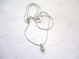 Purple Stone Necklace - $11.00