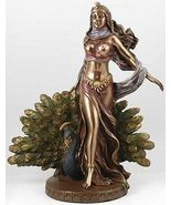 HERA STATUE 9-1/2 In. Greek Goddess JUNO MARRIAGE CHILDBIRTH WOMEN Great... - $81.99