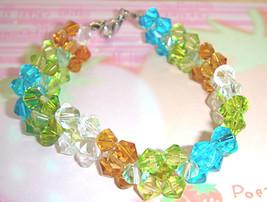 Handmade Rainbow Crystal Bracelet - $18.00