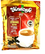 Vinacafe Premium Strong Blend 3-In-1 Instant Coffee Mix 20 Sachets x 20 g - $13.85
