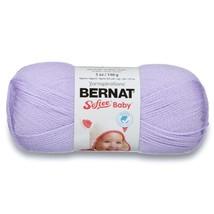 Bernat Softee Baby Yarn in Soft Lilac, 3 DK/Light Worsted