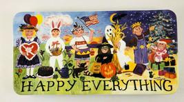 Happy Everything Plate Melissa McLeod Santa Barbara Ceramic Design - $28.71