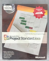 Microsoft Office Project 2003 Standard WIN32 English AE CD for Windows 2000 & XP - $53.45