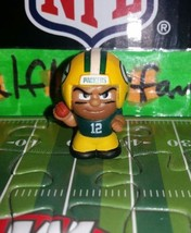 2017 NFL SERIES 6 TEENYMATES AARON RODGERS QB FIGURE GREEN BAY PACKERS  - $2.87