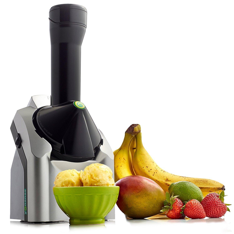 Yonanas 902 classic original healthy dessert fruit soft serve maker  recipe book2