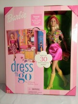 2001 Dress 'N Go Barbie Doll With More Than 30 Accessories/ Dressing Room NIP - $26.72