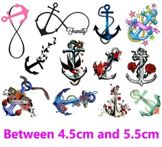 Anchor c1 Temporary Tattoos  - $11.00