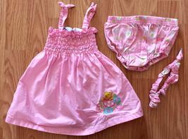Girl's Size 18 M 12-18 Months 3 Piece Pink Walt Disney Winnie The Pooh D... - $21.00