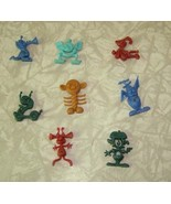 Nits Cereal Premium Figures All Original 1960s Space Aliens - $24.99