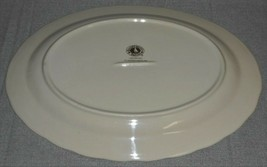 Gooseberry Patch THANKSGIVING TABLE THEME Oval Serving Platter TURKEY MOTIF image 2