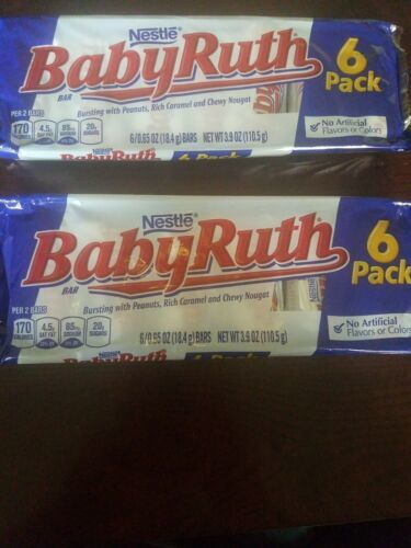 Nestle BabyRuth 6 Pack Fun Size Set Of 2 - $18.69