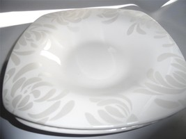 (2) 222 FIFTH - CHRYSANTHEMUM Soup Cereal Bowls White - $27.09