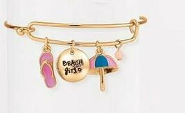 Avon Precious Charm Beach Girl Bracelet - $11.99