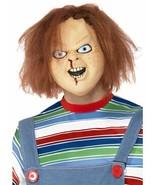 Chucky Mask, Chucky Licensed Fancy Dress, Halloween Rubber Mask #AU - $25.76