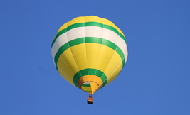 Balloon Above Schnecksville , Pa. 13 x 19 Unmatted Photograph - $35.00