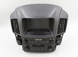 1999-2003 Lexus RX300 Radio Cd Player Receiver W/DISPLAY Screen 86110-48030 Oem - $118.79