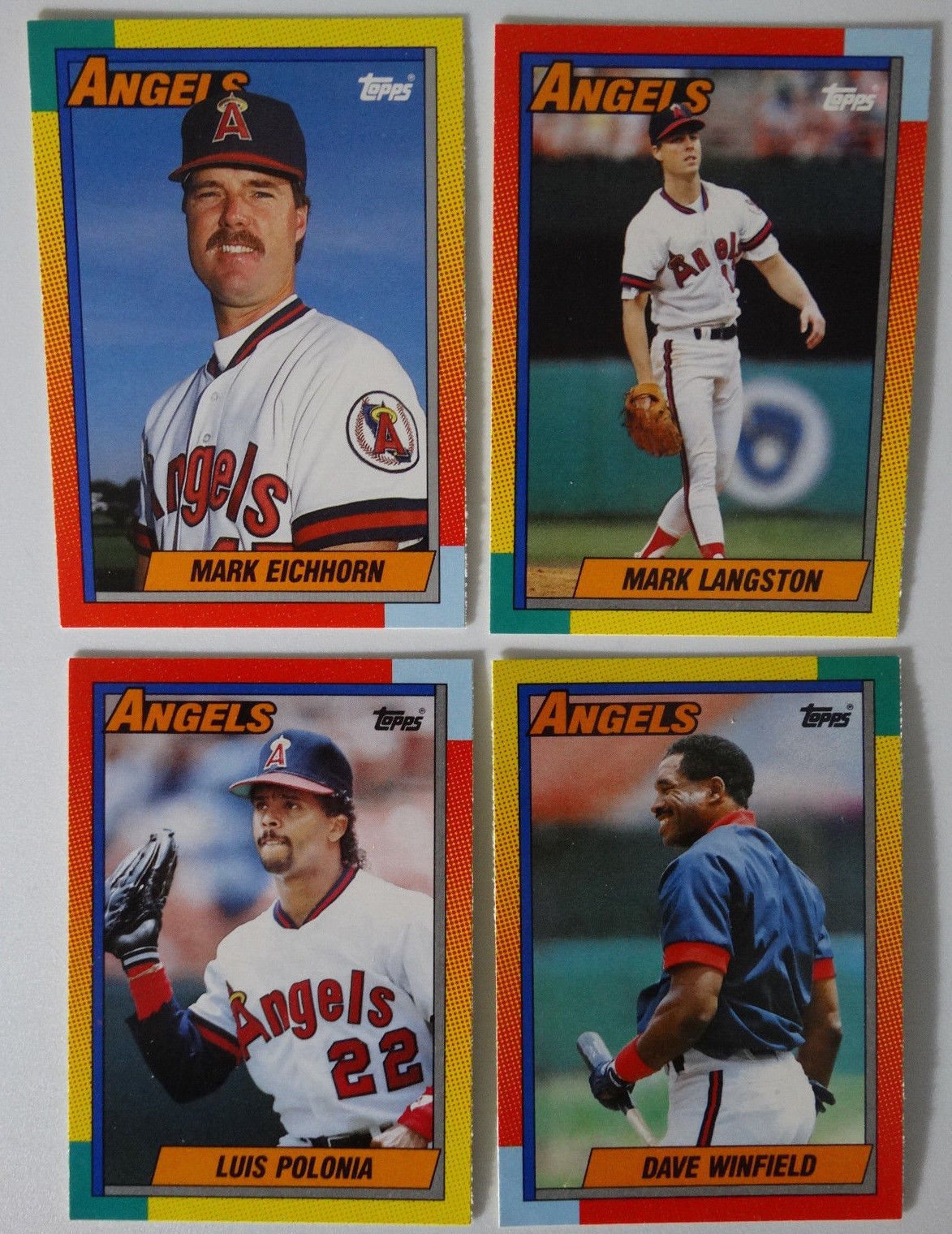 1990 Topps Traded California Angels Team Set And 50 Similar Items