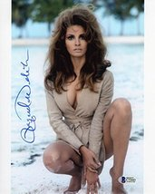 Raquel Welch Signed 8x10 Photo Certified Authentic Beckett BAS COA - $395.99