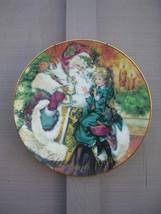 Old Vintage Avon Collectibles Christmas 1994 Porcelain 22K Gold Trim Xmas Plate - $14.84