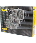 CAD - D32X3 - Pack of 3 D32 Supercardioid Dynamic Vocal Microphone - $58.41
