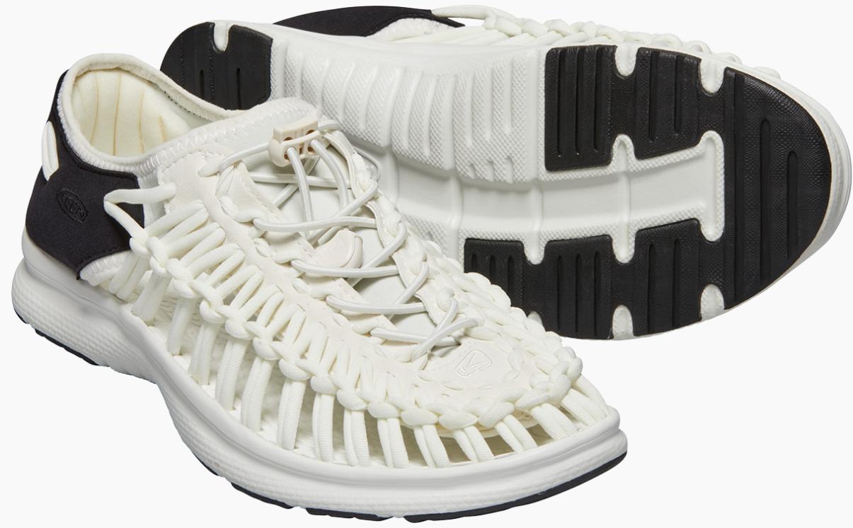 Keen Uneek o2 Size US 7 M (B) EU 37.5 Women's Sport Sandals Shoes White / Black