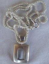 Mini white pendant - $25.00