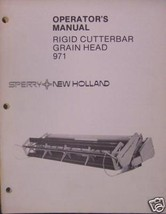 New Holland 971 Grain Head Operator Manual - $7.20
