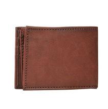 Levi's Men's RFID Blocking Credit Card ID Bifold Brown Logo Wallet 31LV22010 image 5