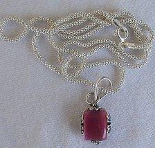 Mini pink pendant - $20.00