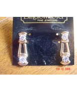 Lindenwold Fine Jewelers 14 KT Gold Plated Earrings. MIP - $3.00