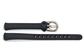NIKE IMARA KYLO BLACK REPLACEMENT RUBBER WATCH BAND - $14.84