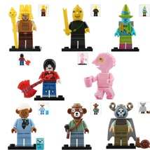 8pcs Adventure time The Lich King Marceline King of Ooo Magic Man Minifigures - $11.99