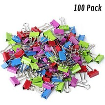 Mr. Pen- Binder Clips, Small Binder Clips, Pack of 100 Clips, Binder Cli... - £7.47 GBP